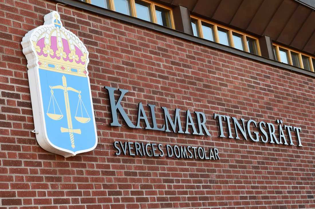 Den åtalade mannen hävdar att det var ett vådaskott som träffade flickvännen. Nu åtalas han i Kalmar tingsrätt för mord. Arkivbild.