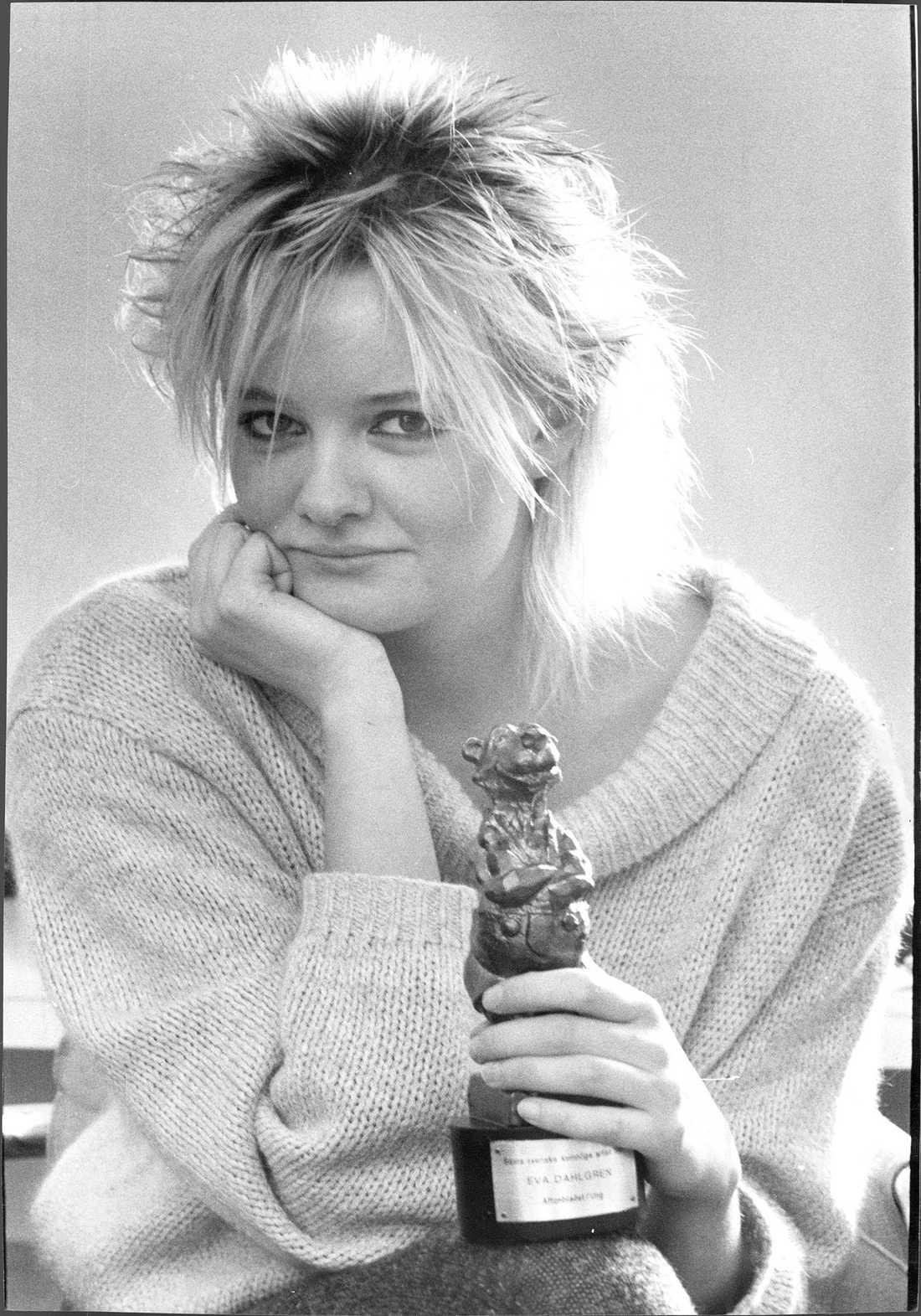 Eva Dahlgren 1984.