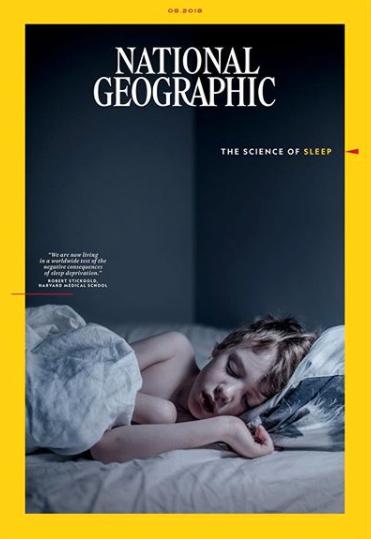 Augustinumret av National Geographic. Bilden är tagen av Aftonbladets fotograf Magnus Wennman och på bilden syns hans son Wile, 8 år.