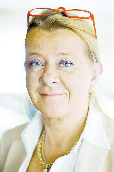 Elisabeth Borsiin Bonnier, ambassadör i Tel Aviv.