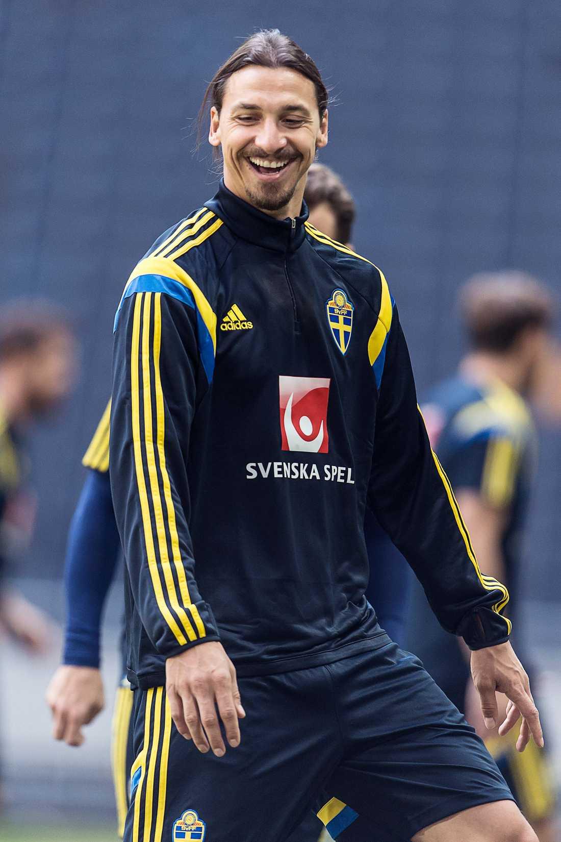 Zlatan Ibrahimovic.