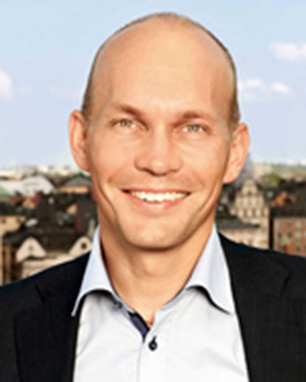 Jonas Nordquist, vd på Orkla Confectionery & Snacks Sverige AB.