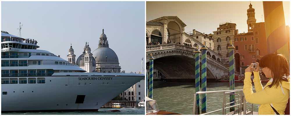 Venedig vill stoppa massturismen, främst de besökare som kommer med de stora kryssningsfartygen.