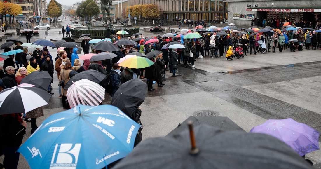 Manifestationen i Göteborg