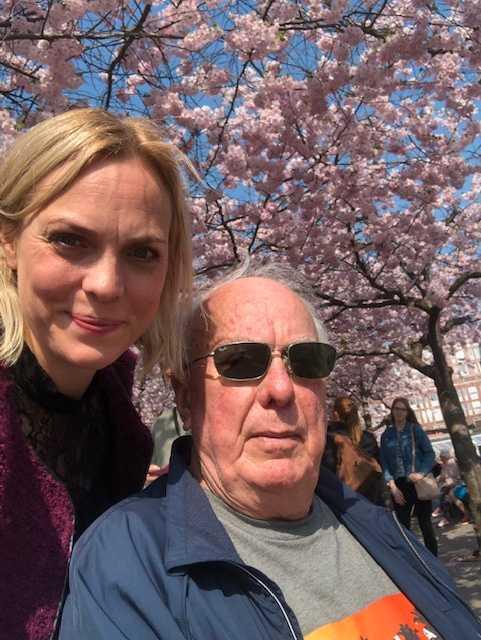 ALS-sjuke Anders Scheef har bara några månader kvar att leva. Här med dottern Sara Scheef.