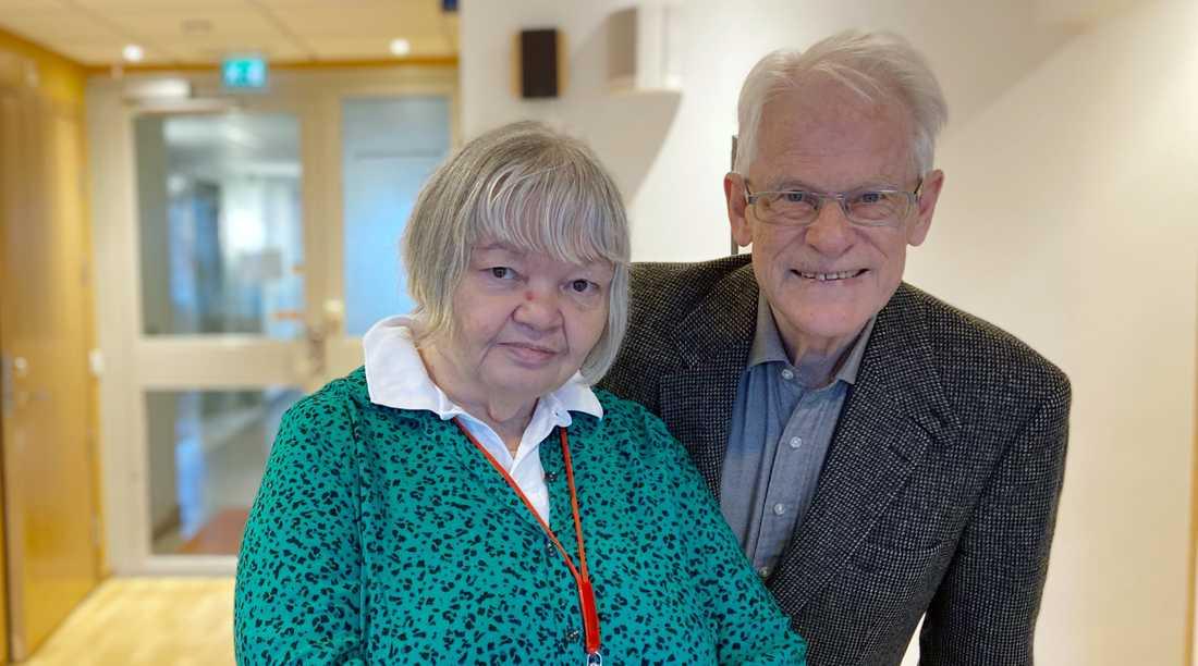 """Ingvar Carlsson och Ann-Marie Lindgren kommer i dagarna ut med boken """"Vad är socialdemokrati?"""""""