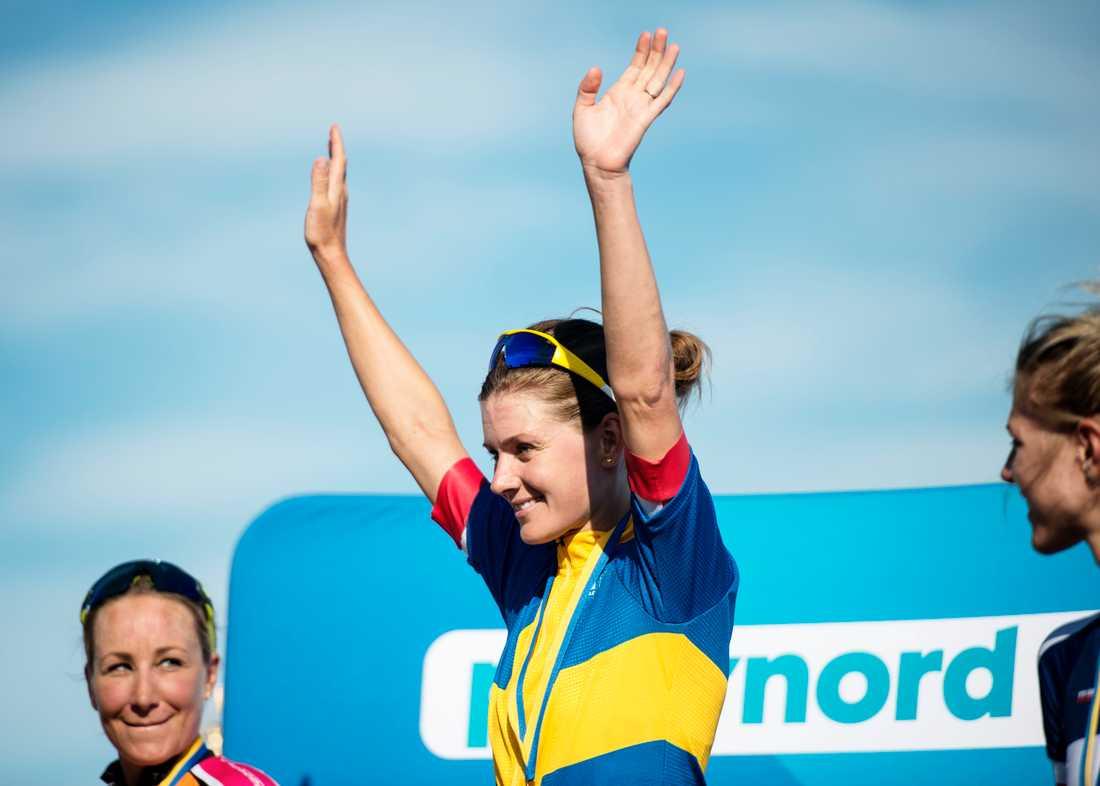 Emma Johansson tog hem sitt 14:e SM-guld.