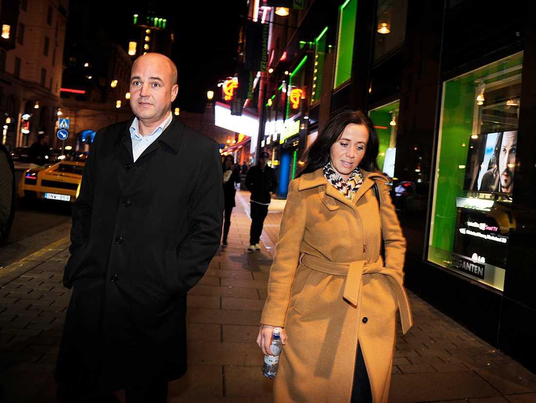 PORSLINSBRÖLLOP Filippa och Fredrik Reinfeldt skiljde sig förra året efter 20 års äktenskap.