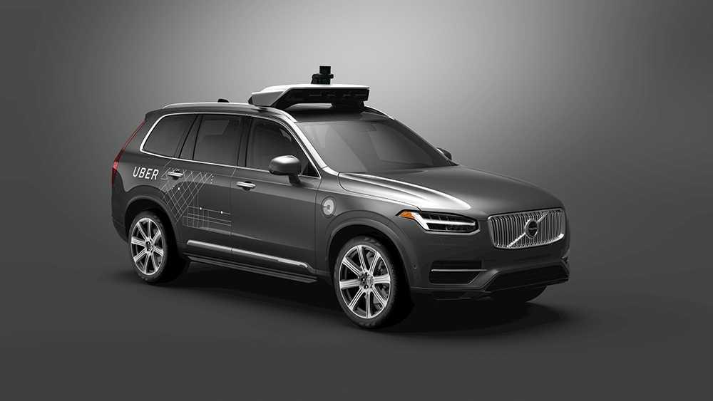 24 000 självörande Volvo XC90 ska levereras till Uber.