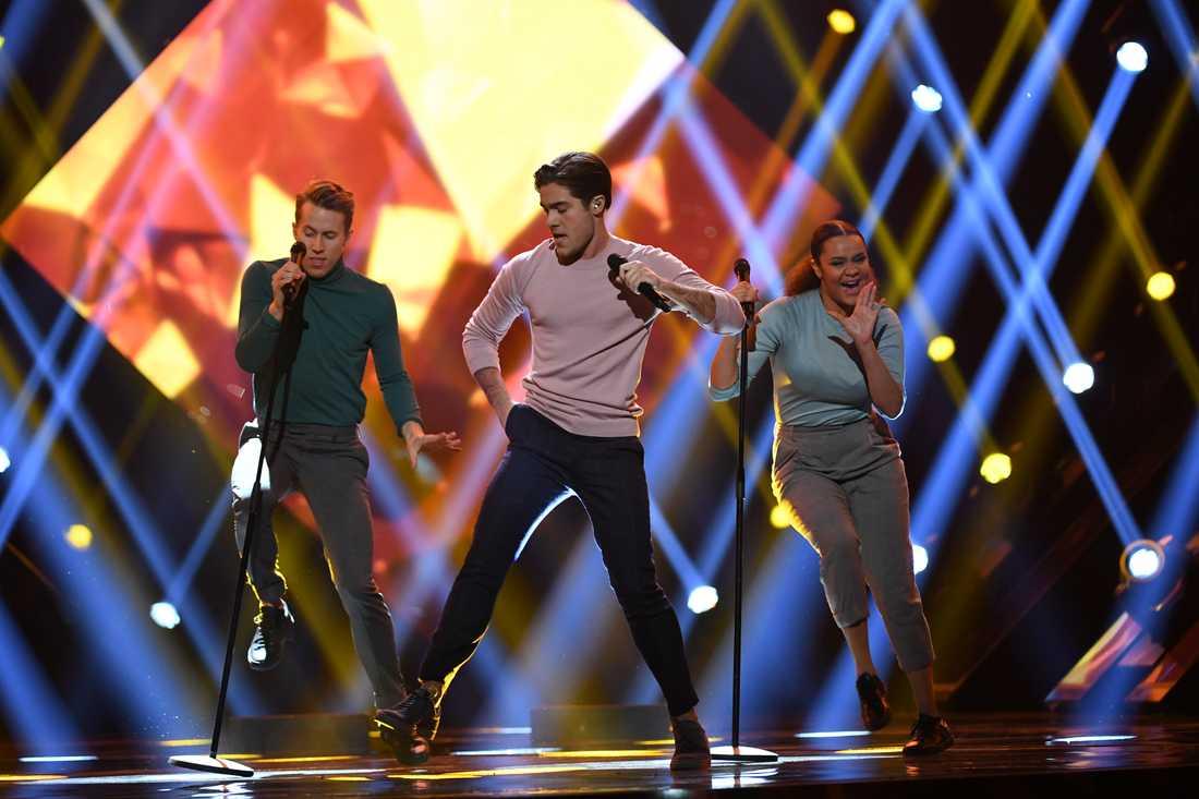 Benjamin Ingrosso i Melodifestivalens final
