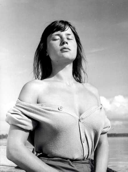 sommaren med monika Harriet Andersson 1953.