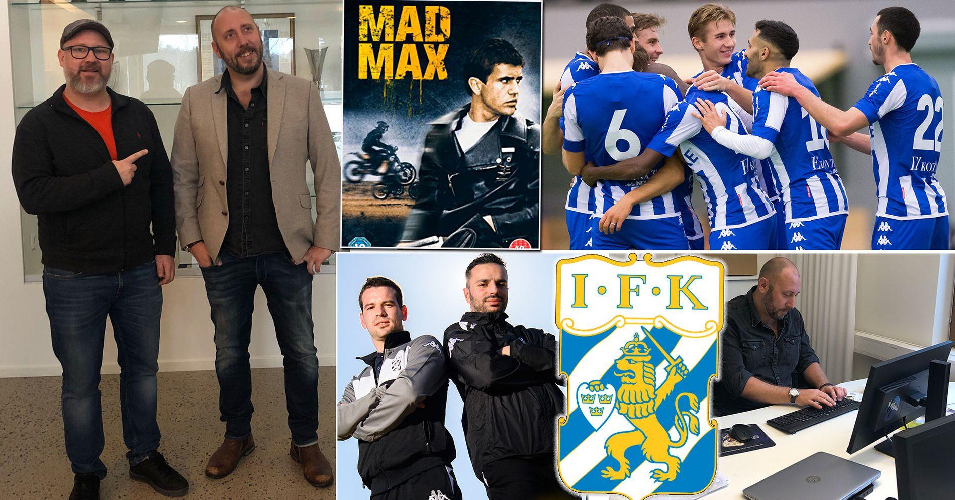 "Robert Laul möter IFK Göteborgs ""Mad Max"" Markusson"