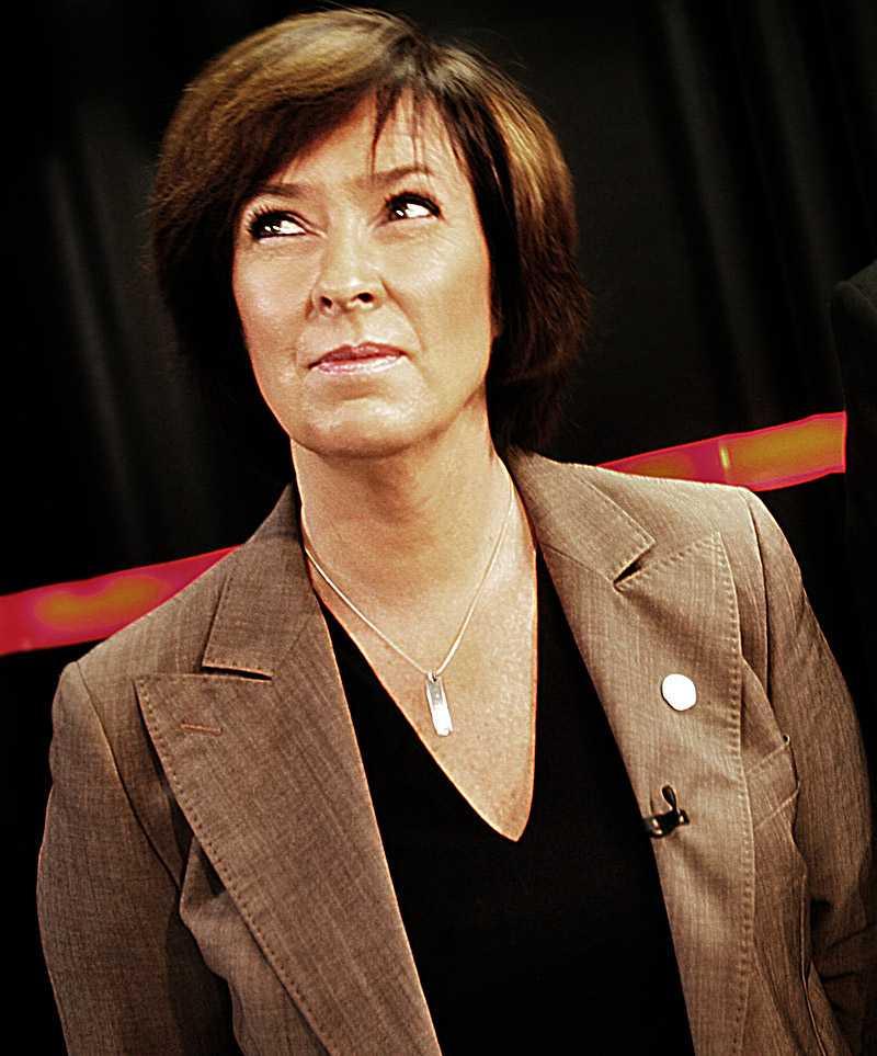 Mona Sahlin är hetast i bloggvärlden. I kväll möter hon Fredrik Reinfeldt i en tv-sänd duell.