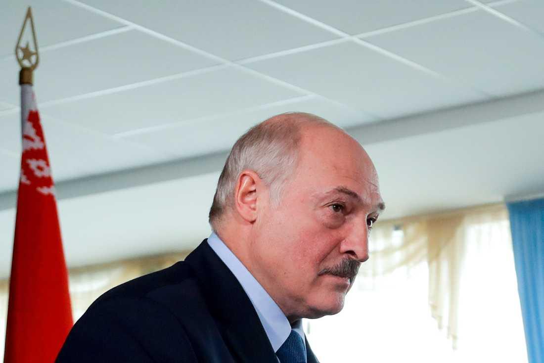 President Alexandr Lukasjenko.