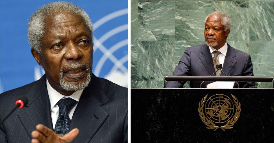 Kofi Annan död – blev 80 år gammal