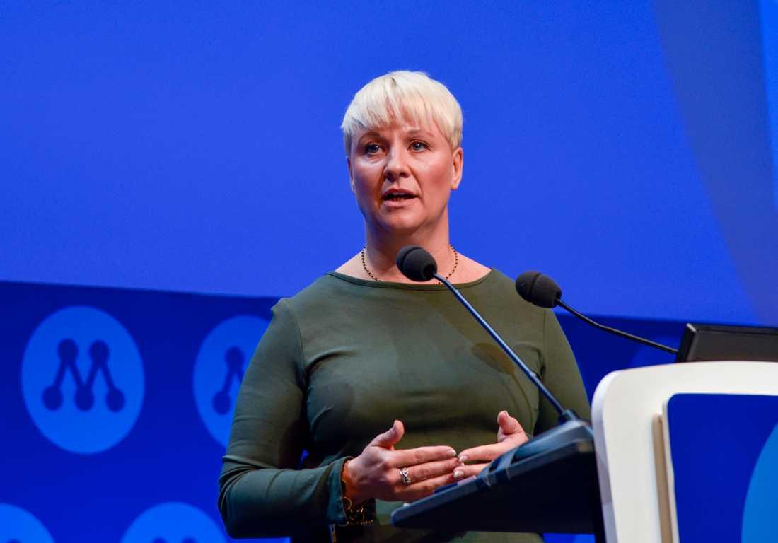 Anna Tenje, nyvald andra vice ordförande i Moderaterna.
