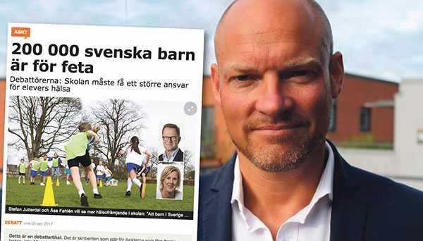 Stefan Ryme, vd Viktväktarna, svarar Stefan Jutterdal och Åsa Fahlén.