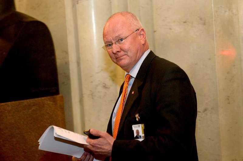 Riksdagsledamoten Finn Bengtsson (M).