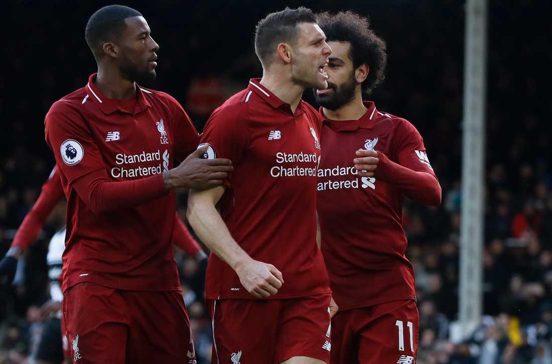 James Milner i Liverpool har spelat i Manchester City, men i dag håller han på Manchester United
