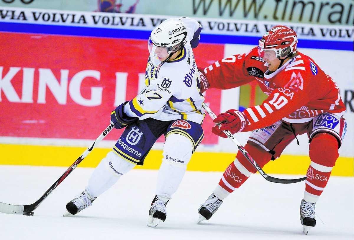 Andreas Falk satte kvitteringen mot Timrå.