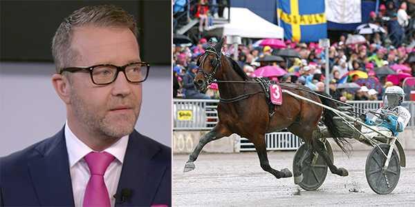 Solvallas sportchef Anders Malmrot fick Propulsion klar under lördagen.