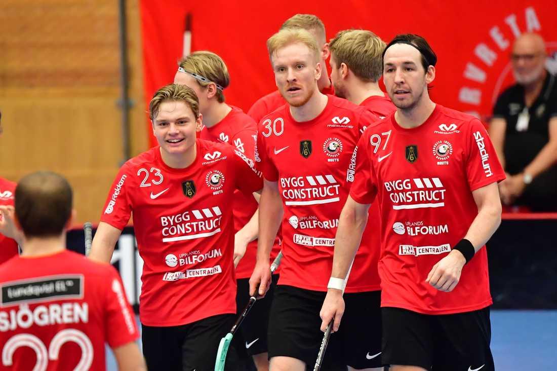 Alexander Rudd (mitten) matchhjälte mot Kalmarsund.