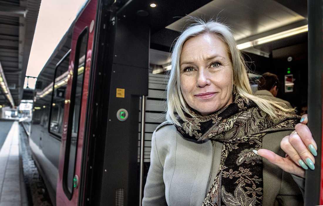 Infrastrukturminister Anna Johansson (S). Betyg: 2,3 (Oförändrat)