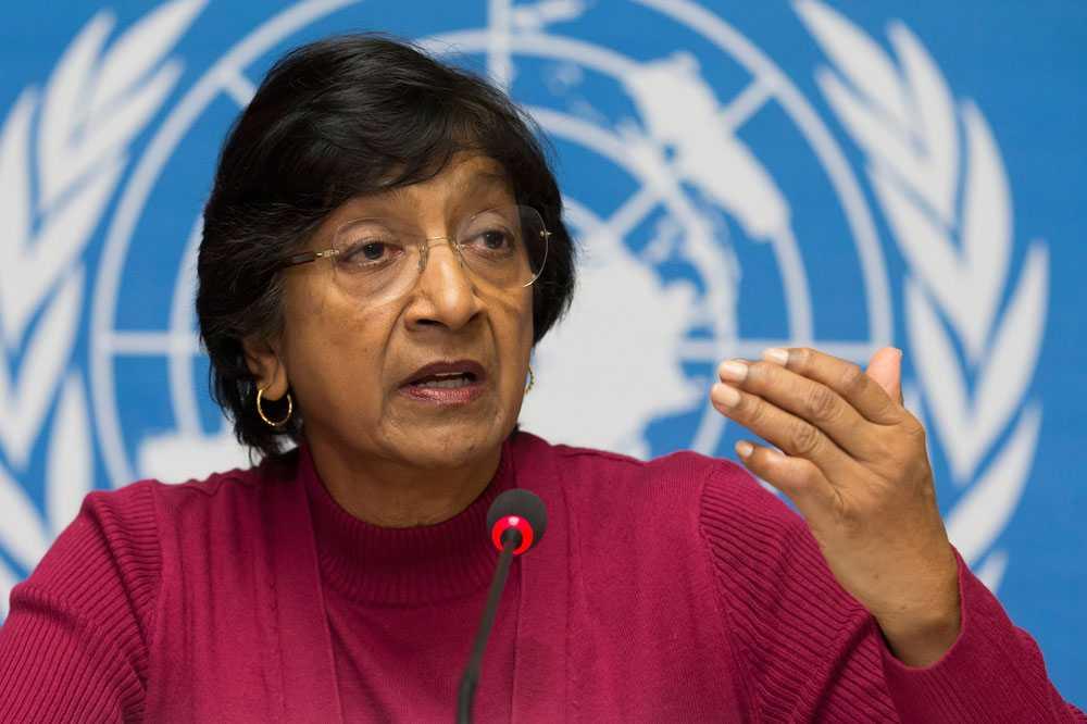 FN:s kommissionär för mänskliga rättigheter, Navi Pillay, säger den 23 juli att Israel kan ha begått krigsbrott under konflikten.