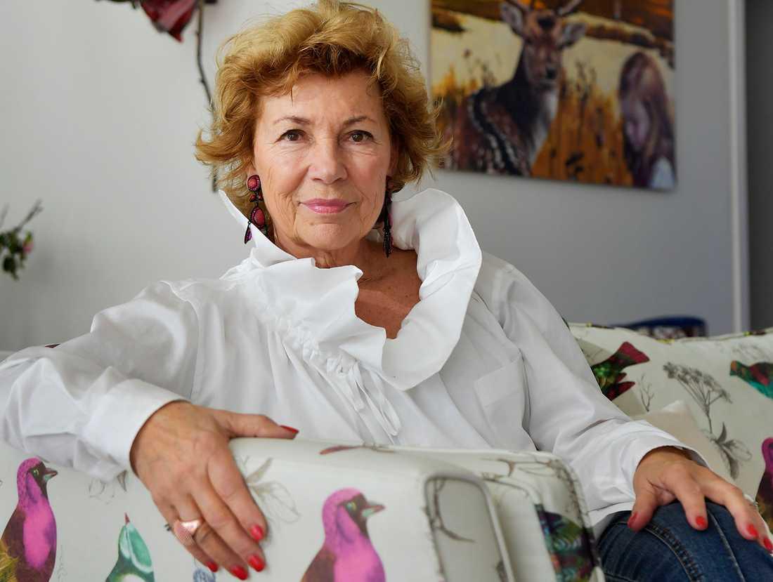 Amelia Adamo, 73, drabbades av en hatstorm efter sitt uttalande.