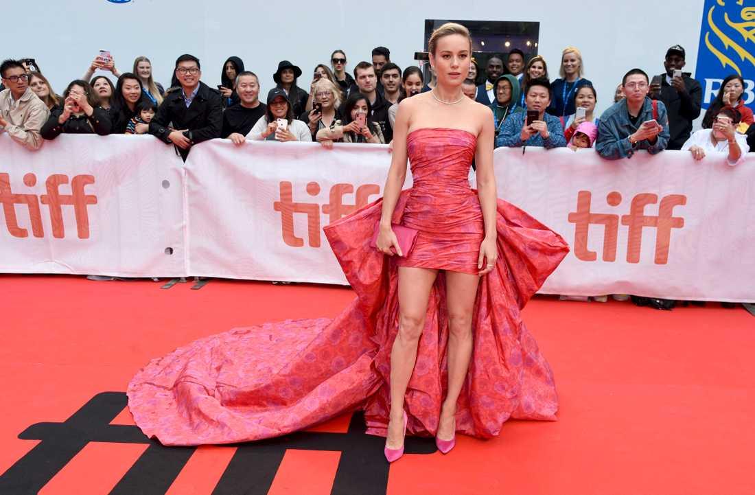 """Marvel-stjärnan Brie Larson är aktuell i dramat """"Just mercy""""."""