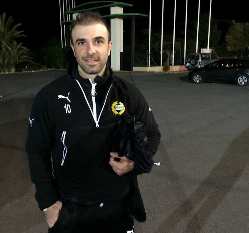 Kennedy Bakircioglü efter matchen.