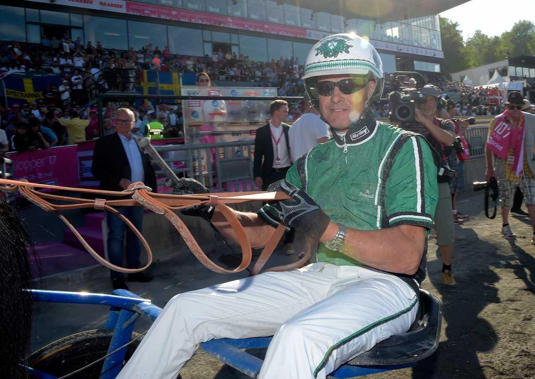 Åke Svanstedt är favorit att vinna Hambletonian för andra året i rad.
