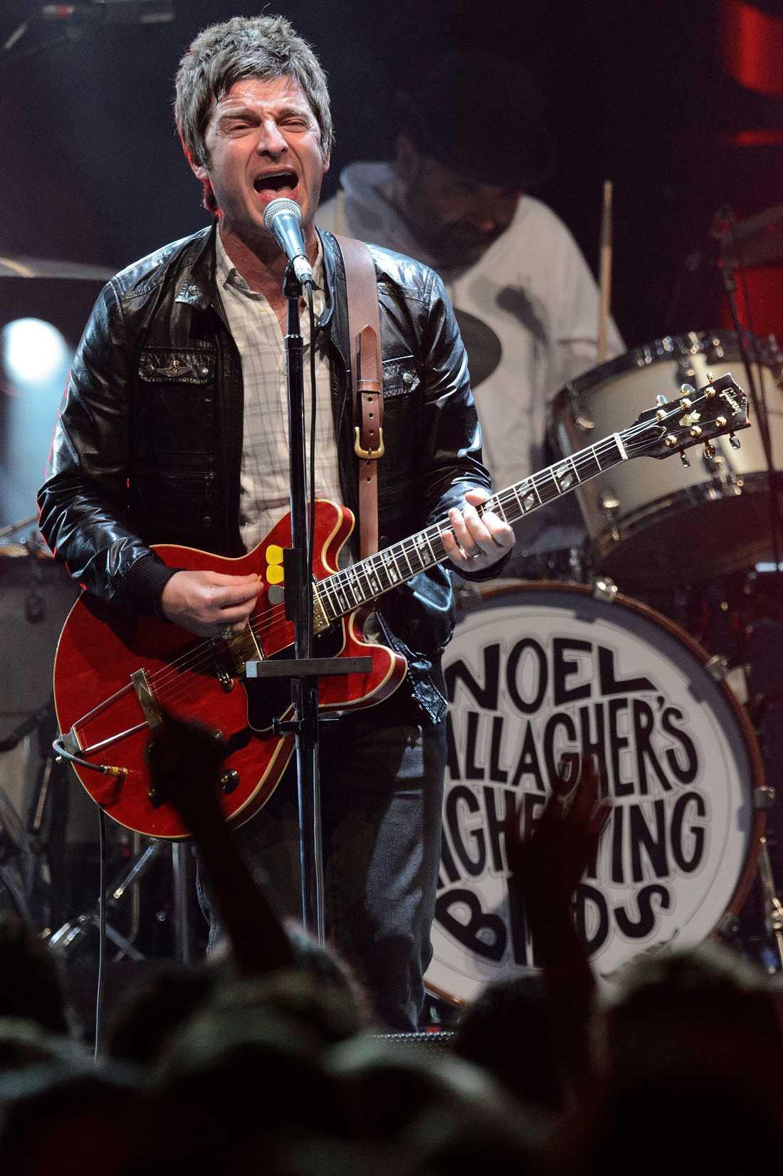 City-fanatikern Noel Gallagher.