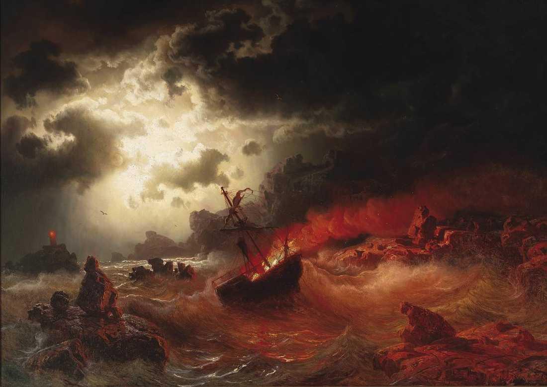 Skeppsbrott av Marcus Larson