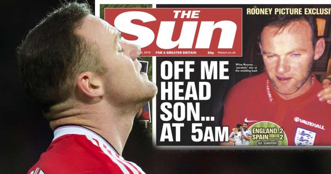 Skandalen på The Suns förstasida i dag.