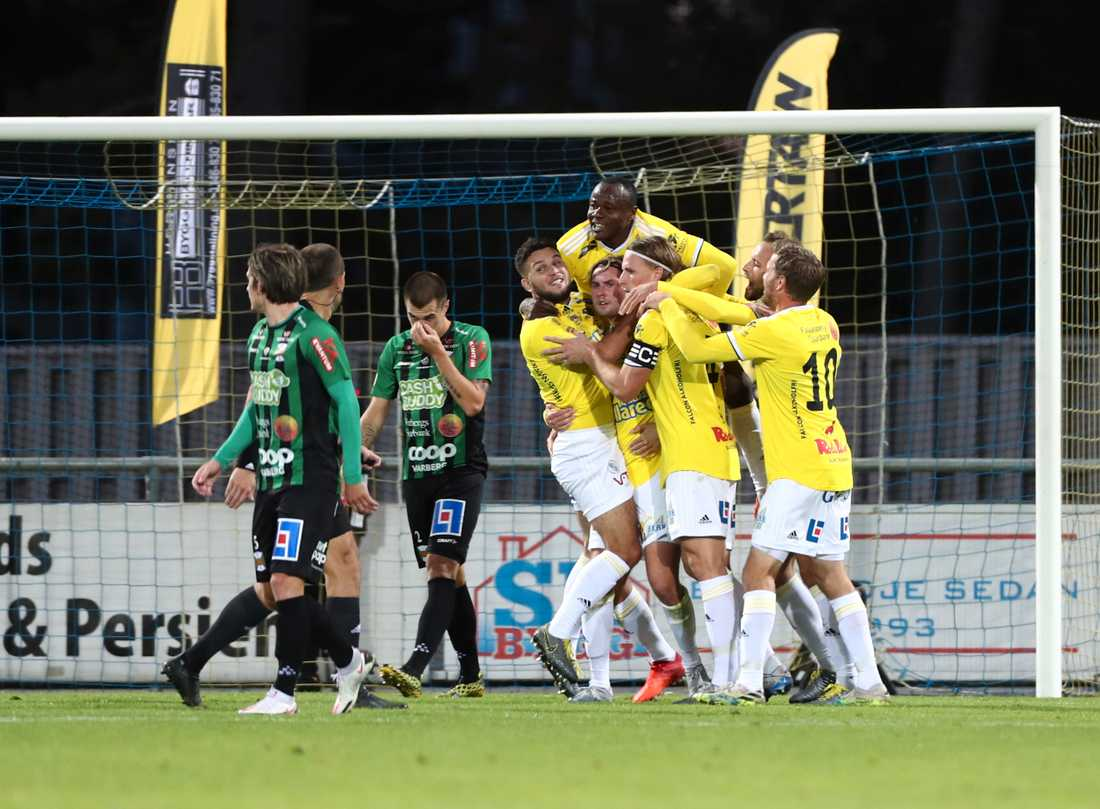 Falkenberg vann derbyt mot Varberg.