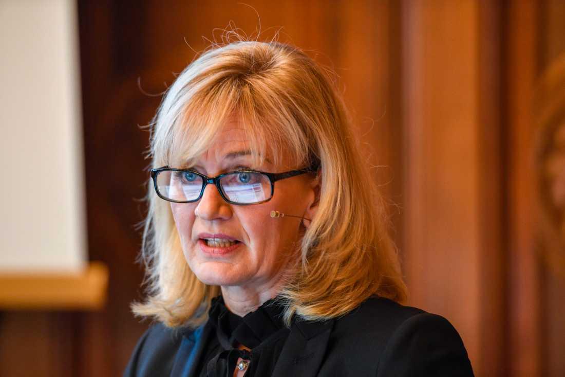 Förutsättningarna för en avsättning till vinstandelssystemet Oktogonen ser bättre ut än på länge, enligt Carina Åkerström, vd på Handelsbanken.