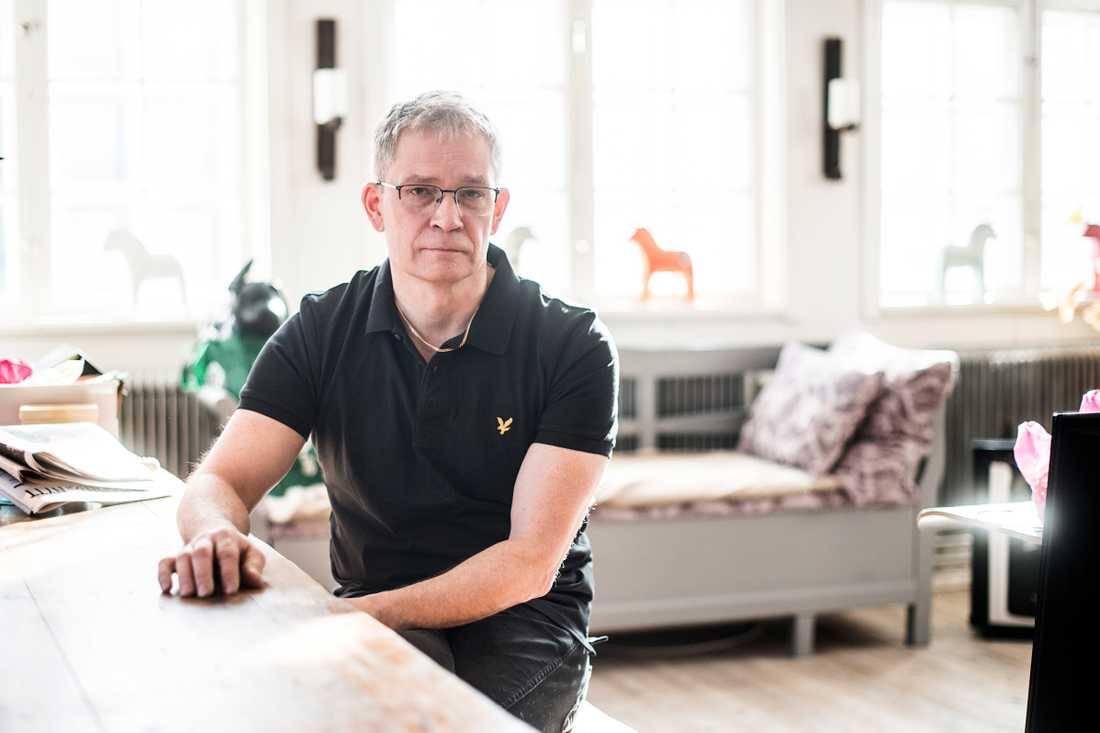 Joakim Nordahl berättar om kaoset efter att lastbilen kört fram på Drottninggatan