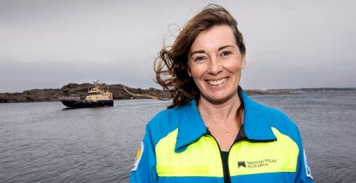 Anna Wåhlin, professor i oceanografi vid Göteborgs universitet.
