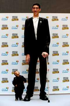 världens längsta person