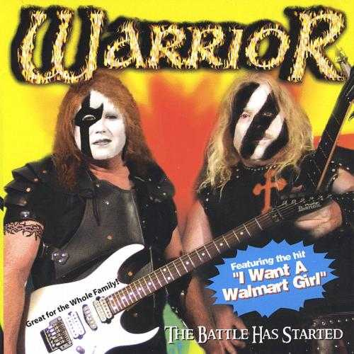 Warrior - The Battle Has Started Nu måste dina ögon vila från all ond bråd död. Som motvikt presenterar vi det det kristna hårdrocksband Warrior från Texas.