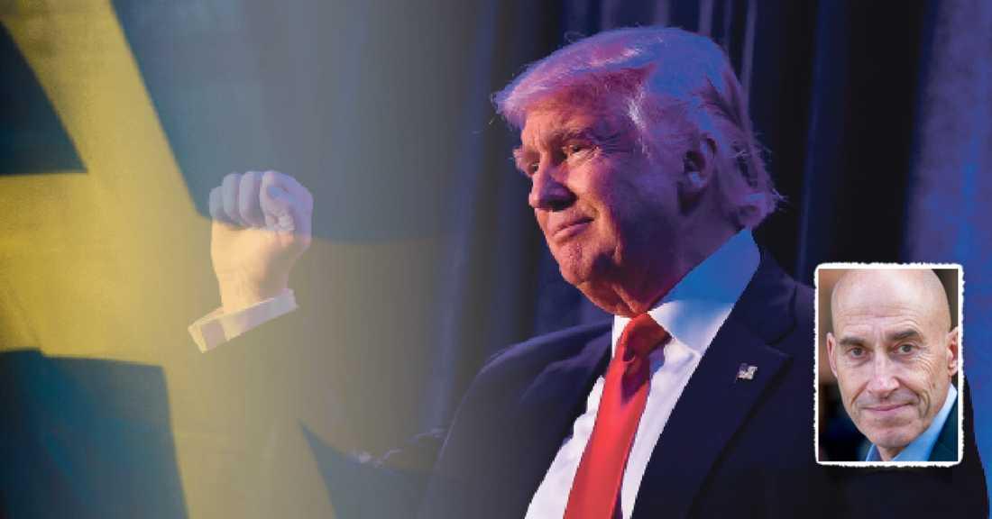 Det är över utrikespolitiken Trump kommer att ha störst makt. Han har varit tydlig med att USA inte kommer att hjälpa länder utanför Nato – vilket radikalt förändrar situationen för Sverige. Ryska militära aktioner mot Baltikum kan dessutom vara möjliga redan i början av nästa år, skriver Olle Wästberg.
