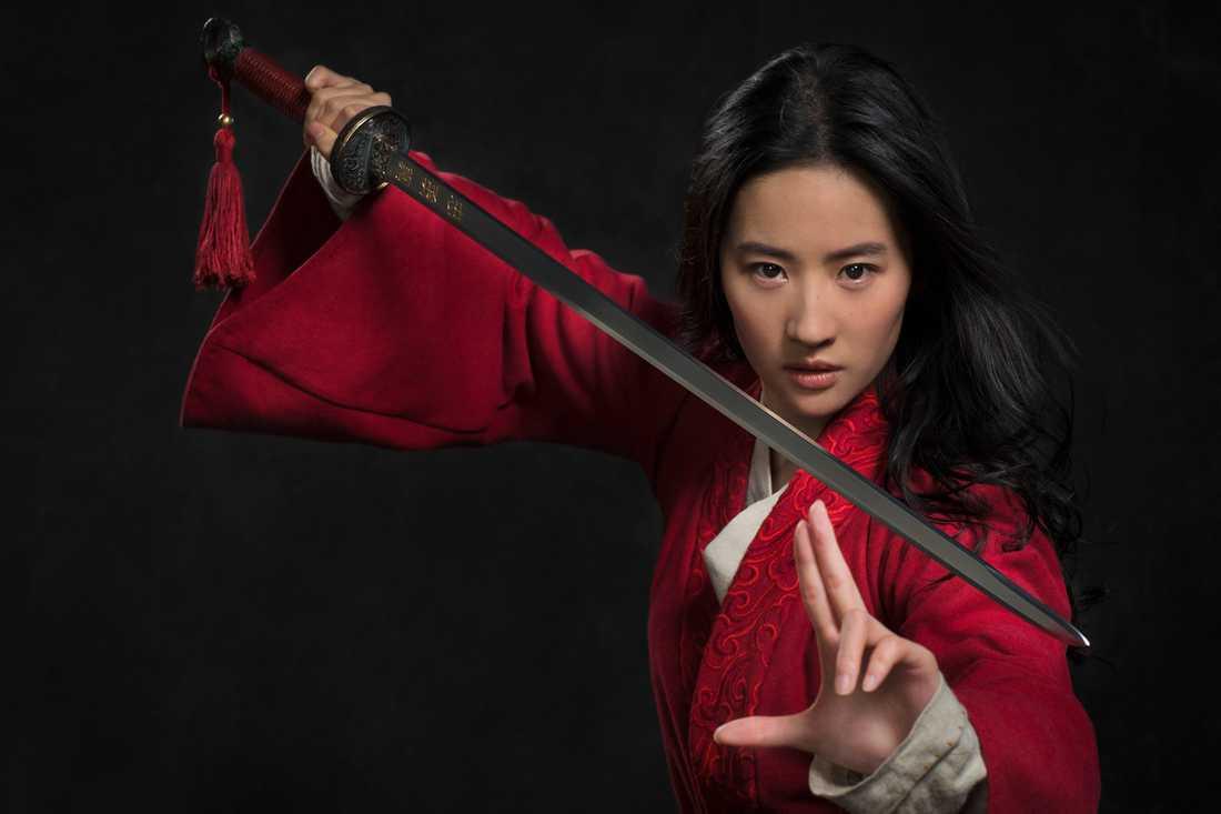 """Liu Yifei i """"Mulan""""."""