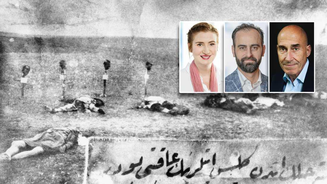 Hundratusentals människor mördades i folkmordet Seyfo 1915