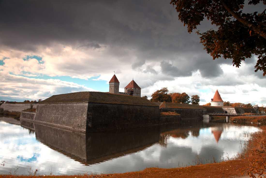 Slottet i Kuressaare på Ösel