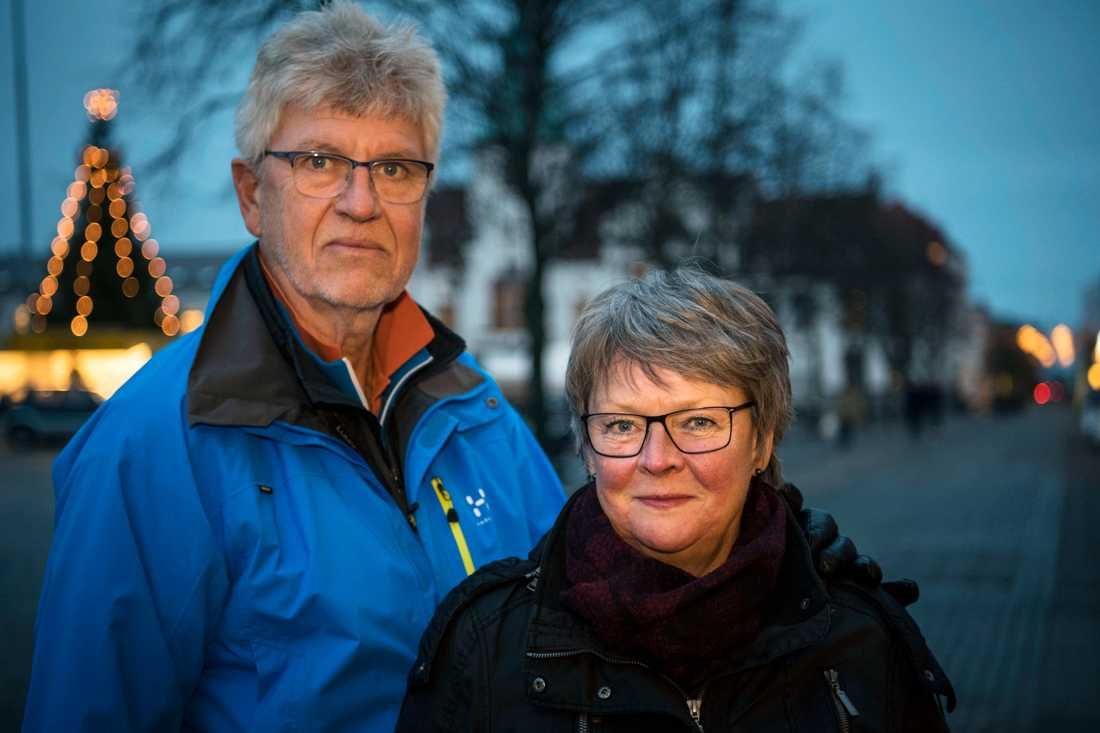 Lars och Monica Olsson från Karlshamn