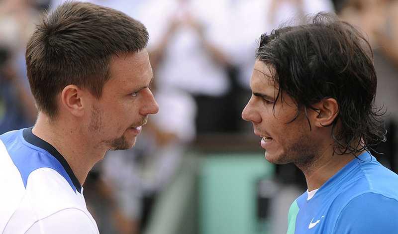 Söderling och Nadal.