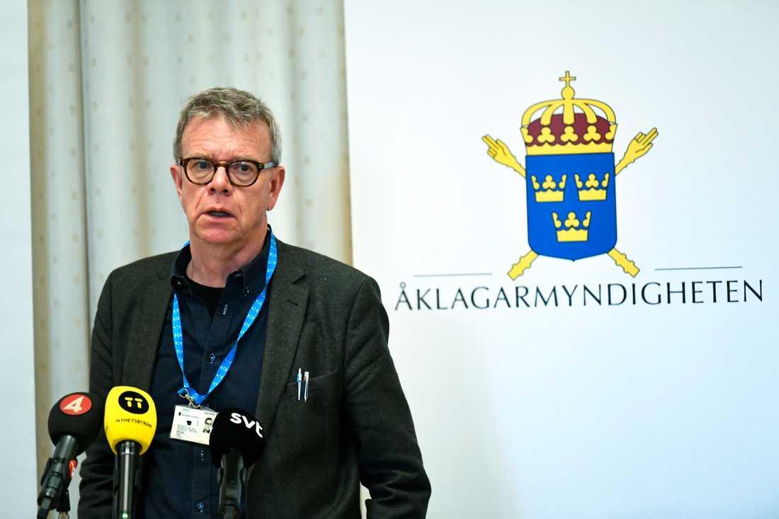 Thomas Ahlstrand, åklagare vid riksenheten mot internationell och organiserad brottslighet. Arkivbild.