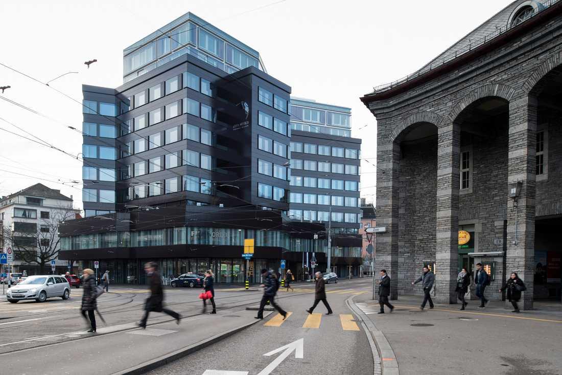 Fifas fotbollsmuseum i Zürich, Haus zur Enge, i samband med invigningen 2016.