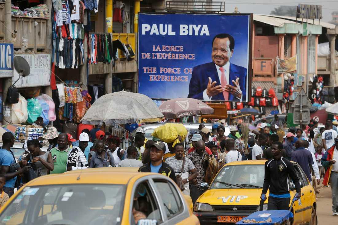Kamerun ska hålla regionala val den 6 december. Arkivbild.